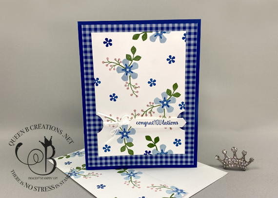 Stampin' Up! Thoughtful Blooms Congratulations CASE the Sale-A-Bration 2020 Catalog by Lisa Ann Bernard of Queen B Creations