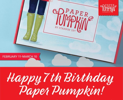 Stampin' Up! No Matter The Weather paper Pumpkin Alternatives by Lisa Ann Bernard of Queen B Creations