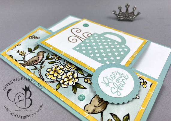 Stampin' Up! Rise & Shine saleabration 2020 reward by Lisa Ann Bernard of Queen B Creations