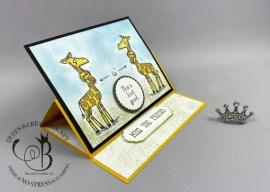 Social Distancing Giraffes
