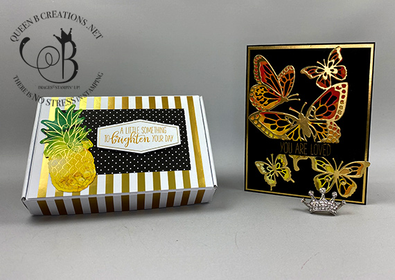 Stampin' Up! June 2020 Box of Sunshine Paper Pumpkin alternatives by Lisa Ann Bernard of Queen B Creations