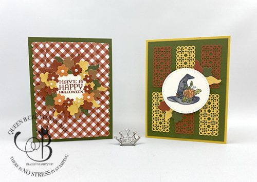 Stampin! Up! September paper pumpkin alternative by Lisa Ann Bernard of Queen B Creations