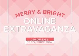 Merry & Bright Online Extravaganza FLASH SALE