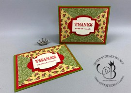 Triangle Paper Piecing Card
