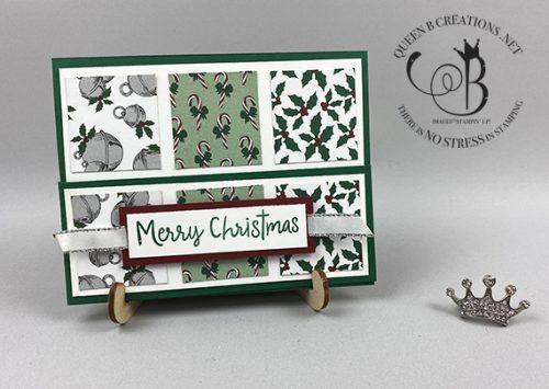 Stampin' Up! 'Tis The Season barn door fun fold card by Lisa Ann Bernard