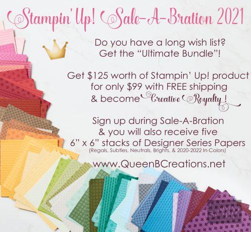 2021 Stampin' Up! Sale-A-Bration Promotion for new starter kits
