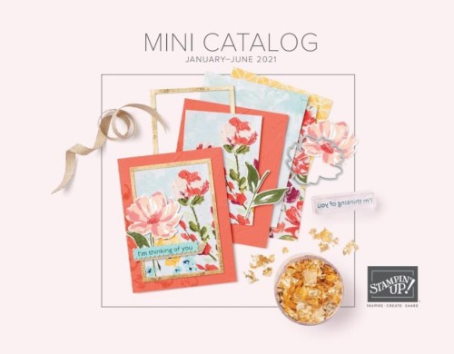 Stampin' Up! 2021 Jan-Jun Mini Catalog Shop with Lisa Ann Bernard at Queen B Creations