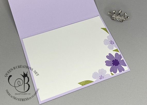 Stampin' Up! Detailed Bands Lovely You In Bloom handmade card by Lisa Ann Bernard of Queen B Creations