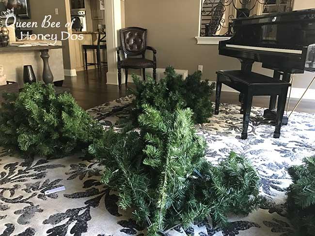 Pre Lit Christmas Tree Lights Repair Replace Queen Bee