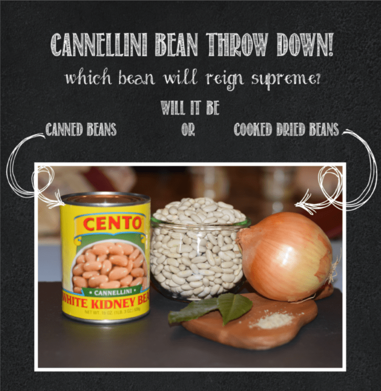 Cannellini bean throw down