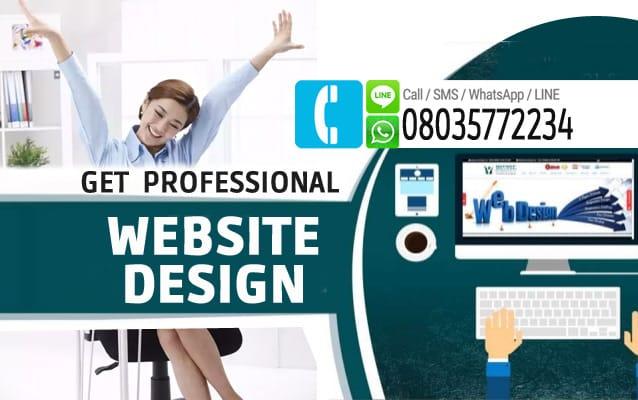 get professional website