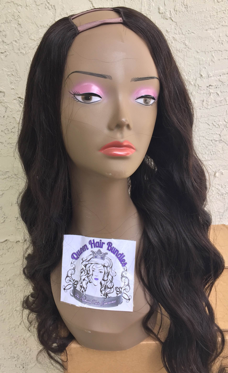 Wig Glueless Full Lace Brazilian Body Wave Unit Queen