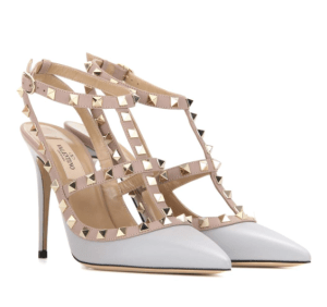 Valentino Heels in Light Grey