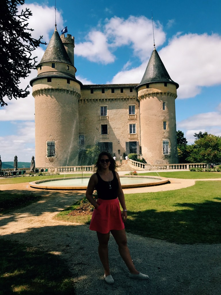 Florence at Château Mercues