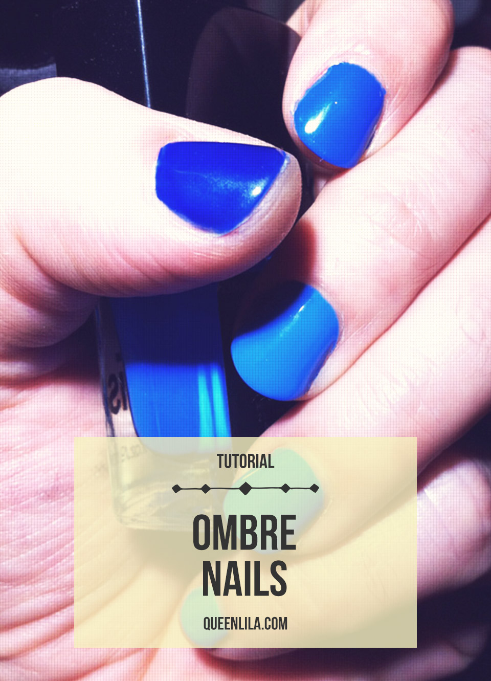 Ombre Nails. Click through for the tutorial! | Queen Lila