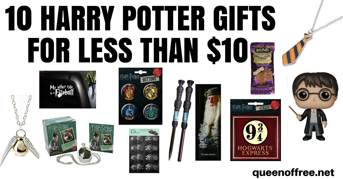 10 Harry Potter Gifts For Less Than 10 Queen Of Free