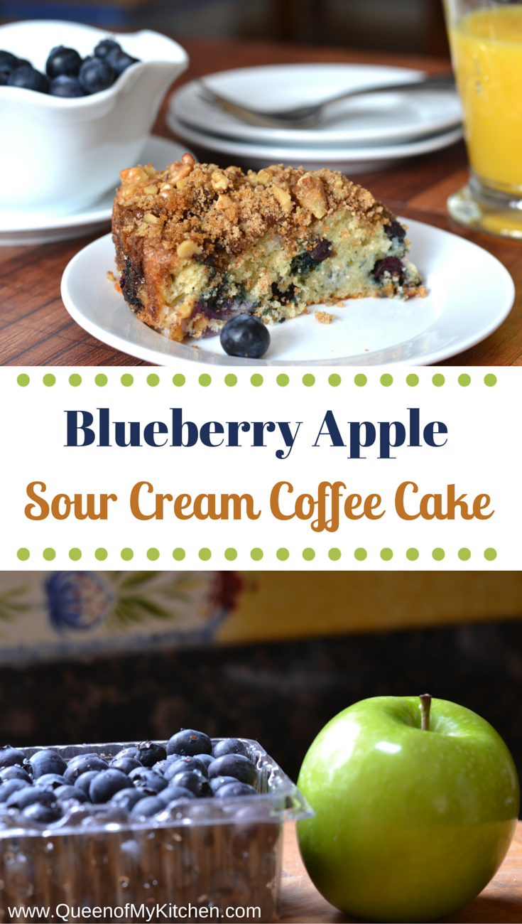 Blueberry Cake Using Cake Mix And Sour Cream