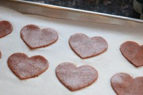 Valentine Red Lentil Beet, and Flax Crackers