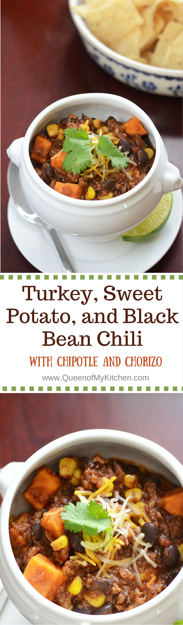 Turkey, Sweet Potato, and Black Bean Chili with Chipotle ...