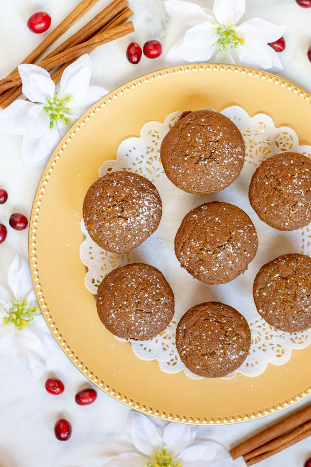 Cranberry Orange Zucchini Muffins - Gluten-free, light and tender muffins made from the ancient grain quinoa and flavored with winter fruit and spice. | QueenofMyKitchen.com | #healthybaking #quinoa #quinoaflour #muffin #muffins #healthymuffins #zucchini #glutenfree #glutenfreebaking
