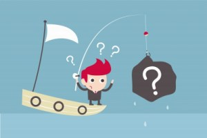 Fishing for questions