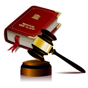 Gavel and Book of Law