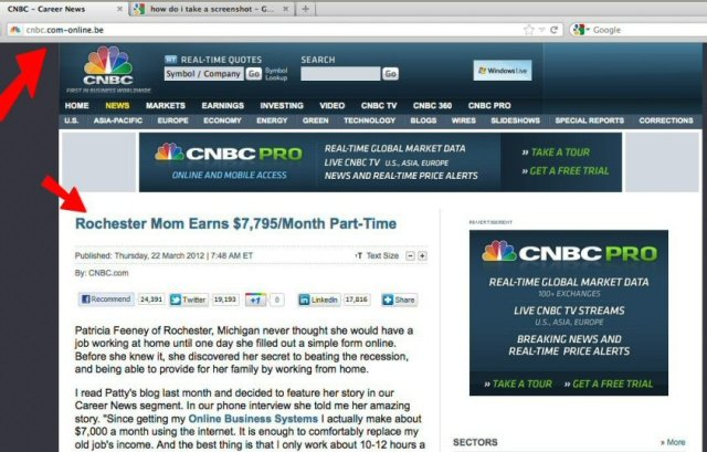 CNBC scam Rochester