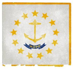 Rhode Island grunge flag