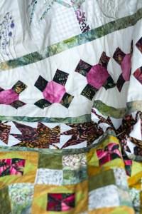 Baum-Quilt Detail