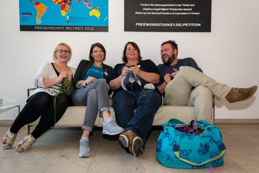 Sonntaglinks im Oktober: rund ums YarnCamp