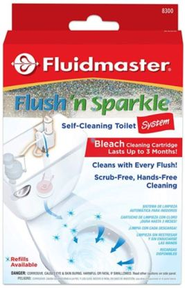 Fluidmaster Automatic Toilet Bowl Cleaning System