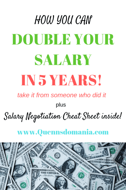 how to double your salary in 5 years #increaseincome #increasesalary #increasewage #incometips