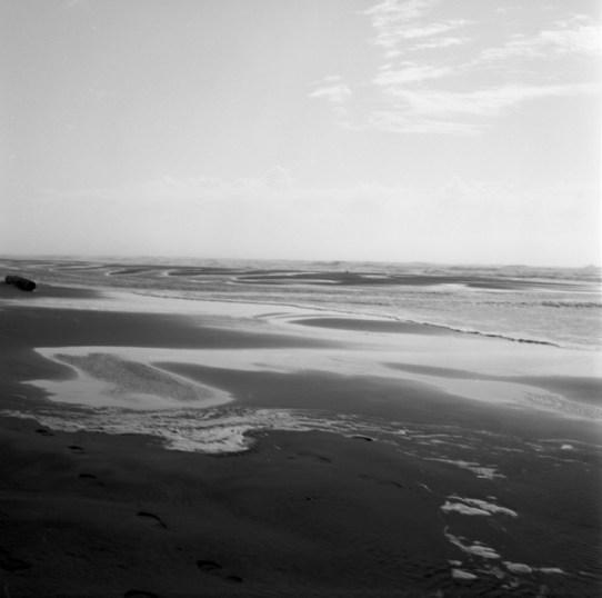 """Swirl,"" Long Beach, WA, Gelatin Silver Print by Mary Teresa Giancoli"