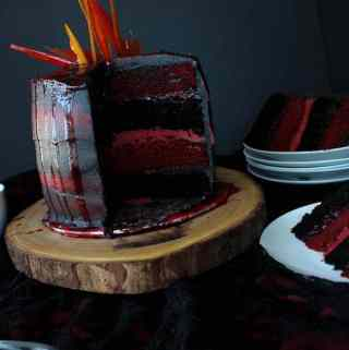 Fire and Blood Layer Cake