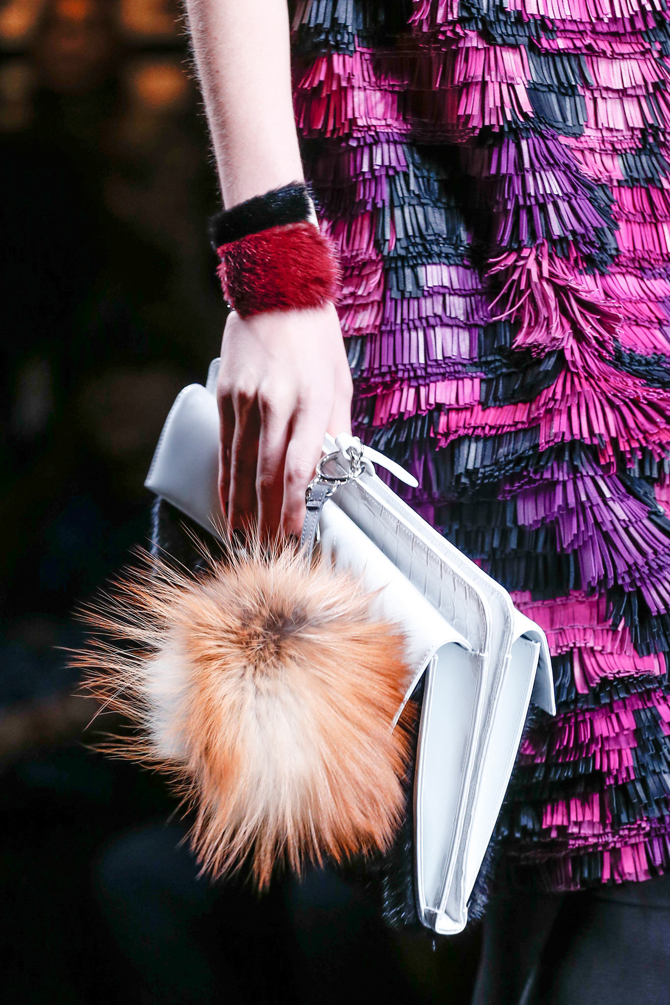 Fall 2013 Fendi fur cuff - styledotcom