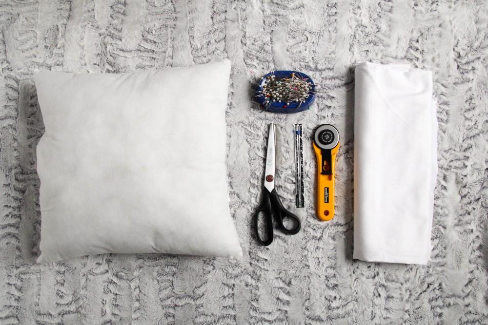 Pillow Cover Supplies