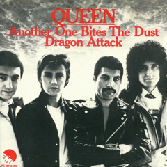 Image result for queen another one bites the dust single images