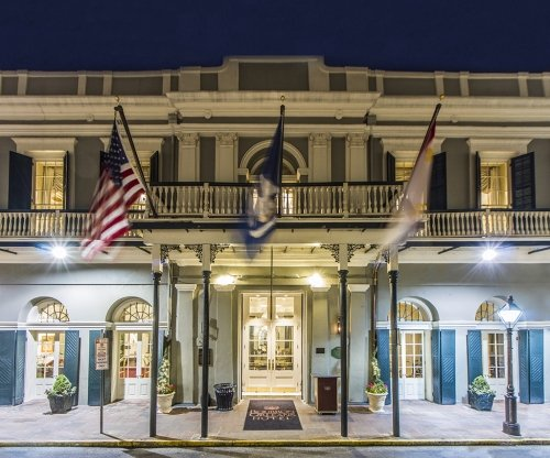 The front of the Bourbon Orleans Hotel in New Orleans from their website