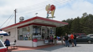 Dairyland is where you go for ice cream cones. On Route 20 just as you come to Sharon Springs NY.