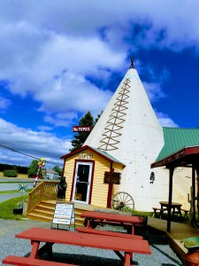 The Tepee stands as an icon to motorcar travel on Route 20 outside of Sharon Springs NY.
