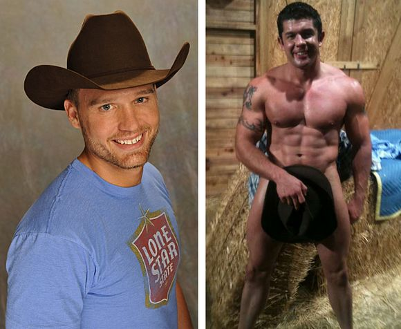 Big Brother 10 contestant gay cowboy Steven Daigle and gay porn star Josh Griffin