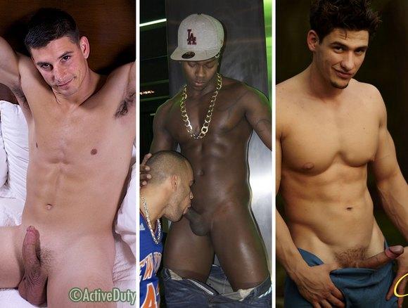 muscle hunk gay porn star Dallas Apollo Cain