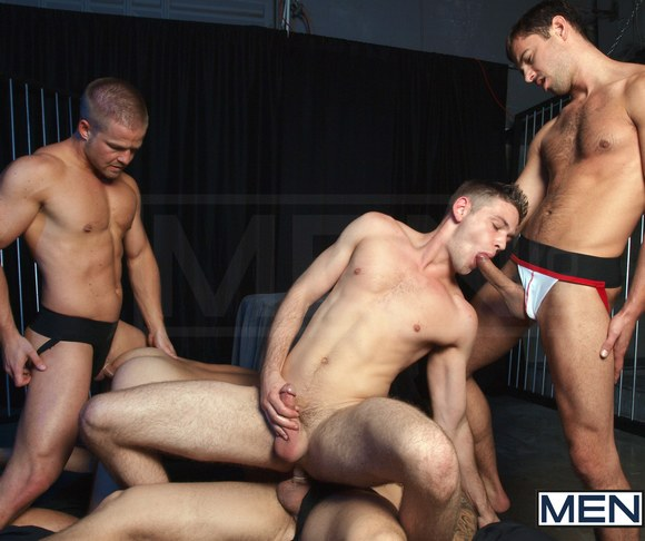 Gay orgy the scene embarks off with skylar