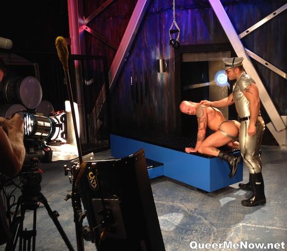 Marcus Ruhl Sean Duran Gay Porn Leather Sex Hot House Control Room