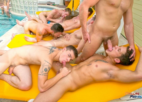 Dallas Reeves Key West Bareback Orgy