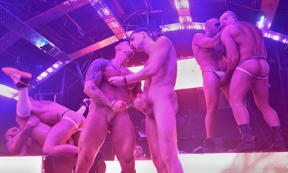 SEX CIRCUS Gay Porn Stars London 25