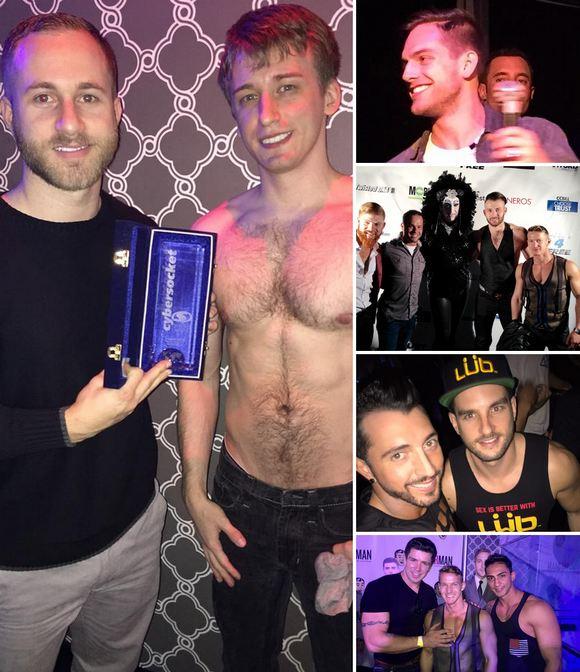 Cybersocket Awards 2015 Gay Porn Stars