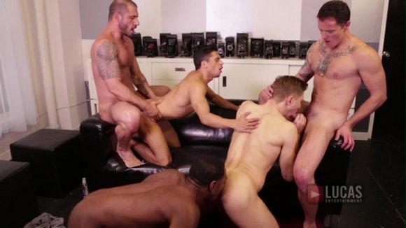 Lucas Bareback 5 Orgy 2