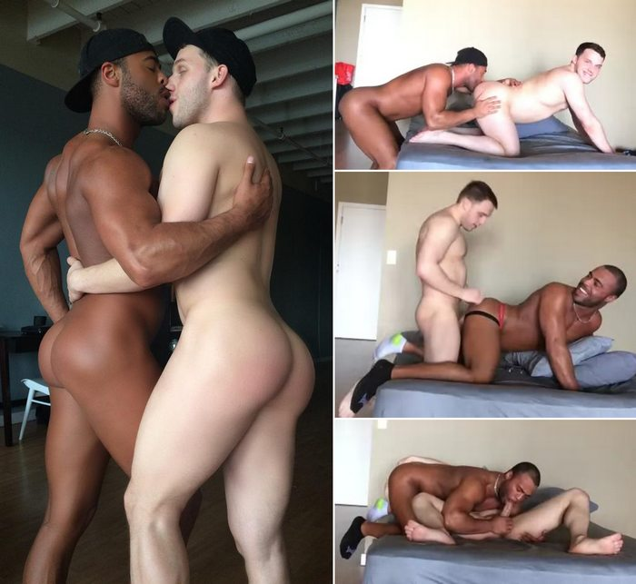 Interracial gay male porn