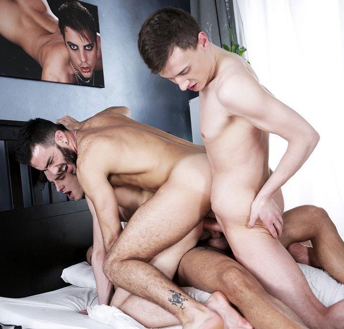 Tripe Penetration Johny Cruz Alejandro Alvarez Jace Reed Xavi Duran Gay Porn